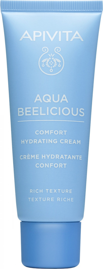 Apivita Aqua Beelicious day cream rich texture