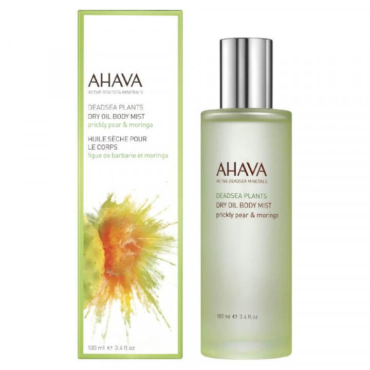 Ahava dry oil body mist prickly pear & moringa