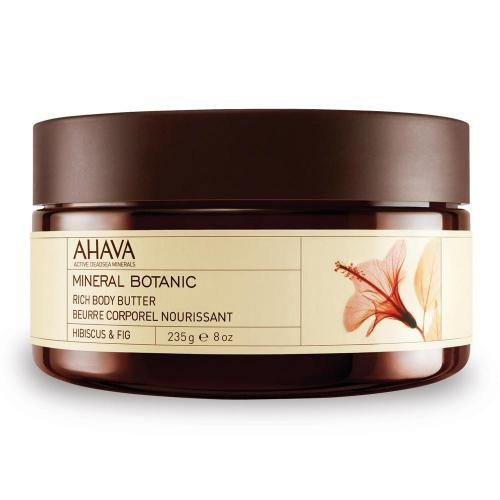 Ahava mineral rich body butter hibiscus & fig