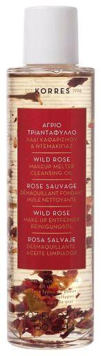 Korres wild rose cleansing oil