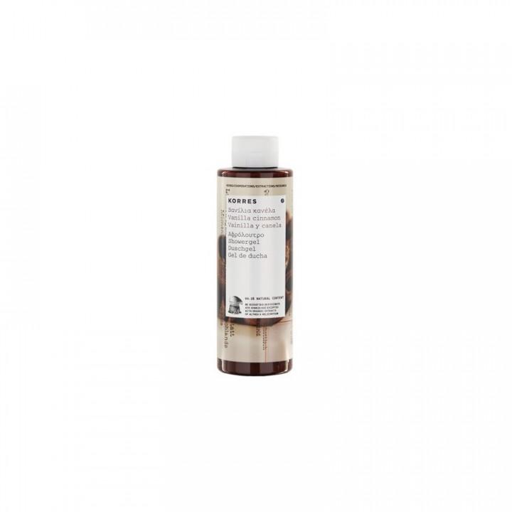 Korres Vanilla Cinnamon Shower Gel 250ml