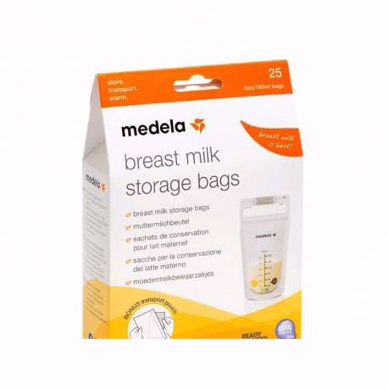 MEDELA MILK STORAGE BAGS 25PC