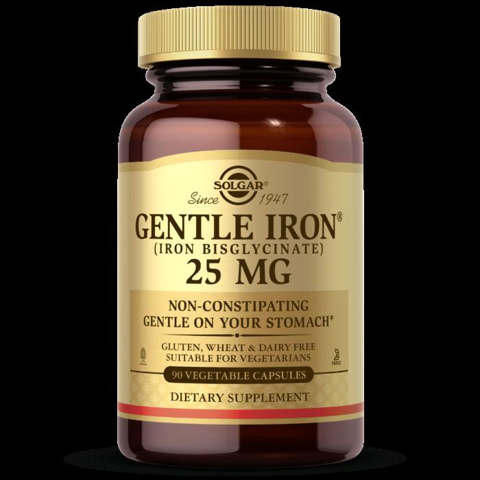 Solgar Gentle Iron 20mg Tablets 90