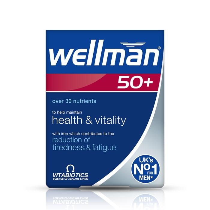VITABIOTICS Wellman 50+ Tablets