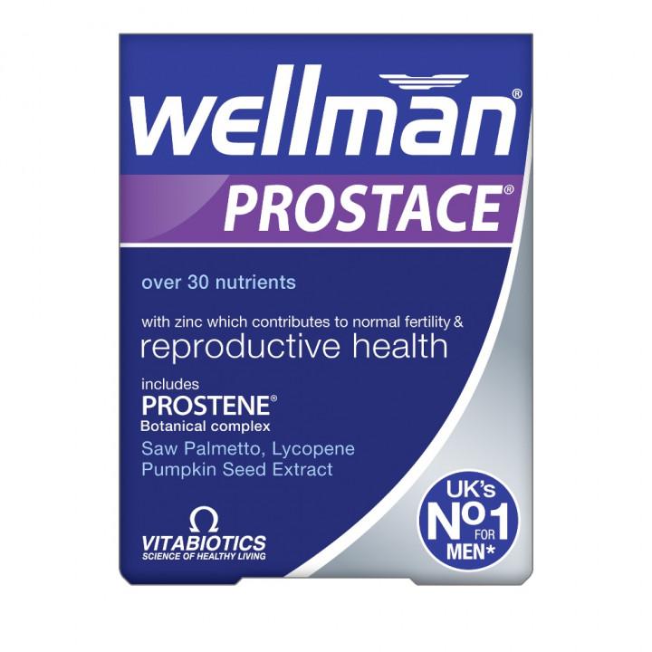 VITABIOTICS Wellman Prostate Tablets 60
