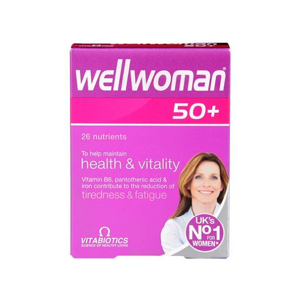 VITABIOTICS Wellwoman 50+ Tablets