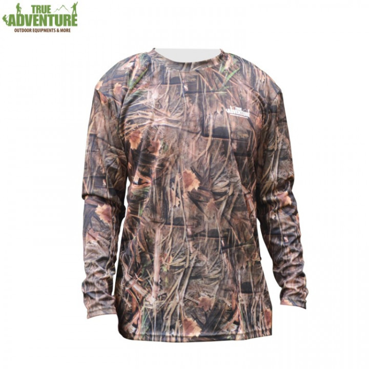 Short Sleeve T-Shirt/Breathable/Quick Dry - Real Tree - Large