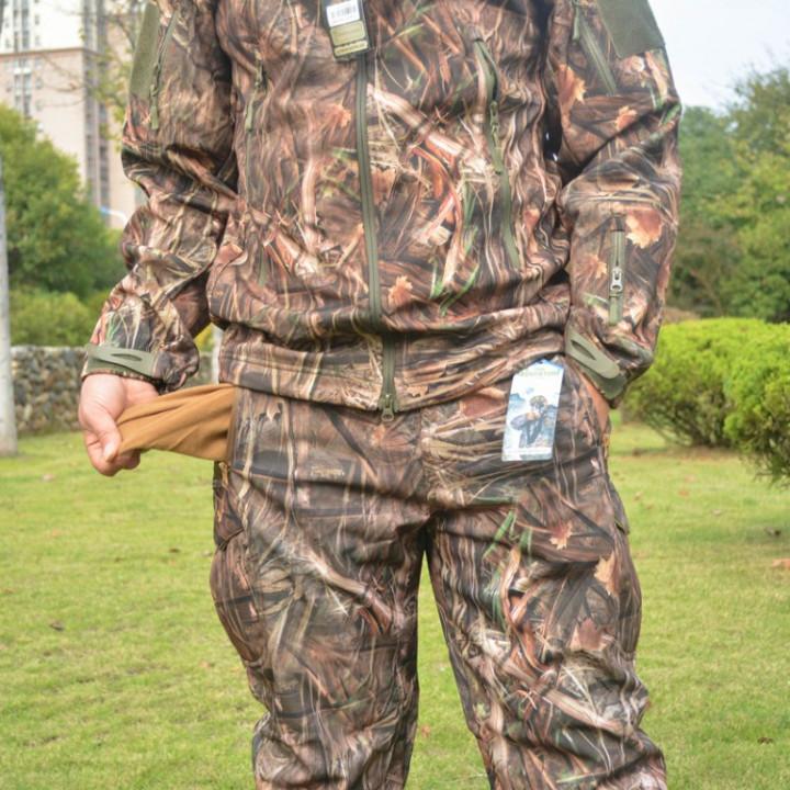 Hunting Pants - Camo - Large