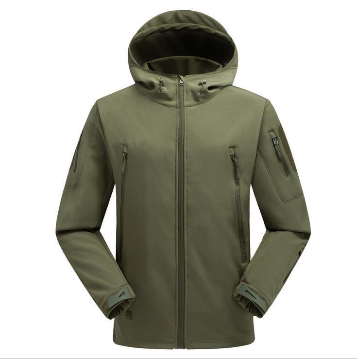 Hunting Polar Fleece - Green - Medium