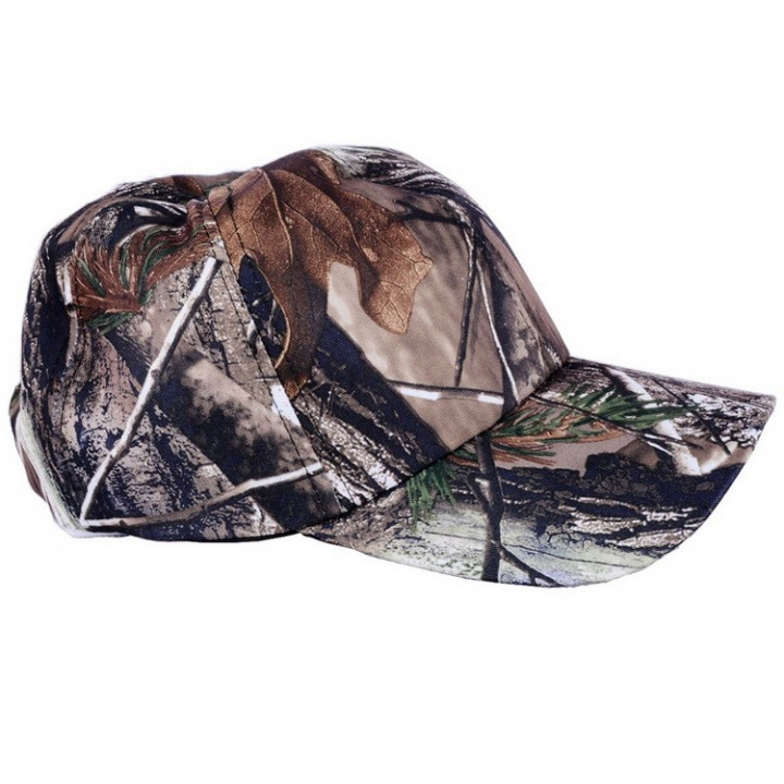 Outdoor camouflage Military Hunting Tactical baseball hat - Camo - One Size