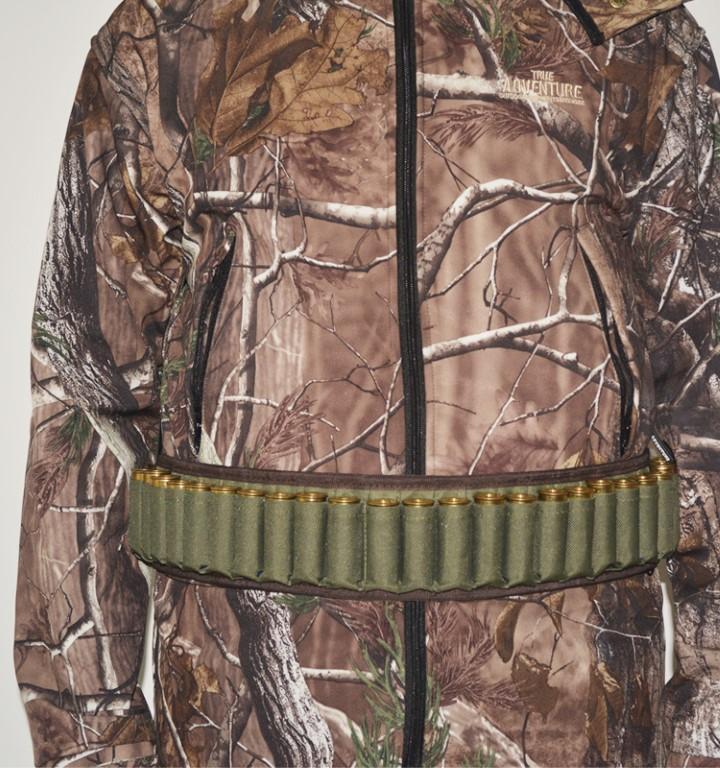 Cartridge Belt 30 Holes(Oxford Shell Holder) - Green - 80x10.5cm