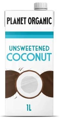 Planet Organic Unsweetened Coconut Milk 1L