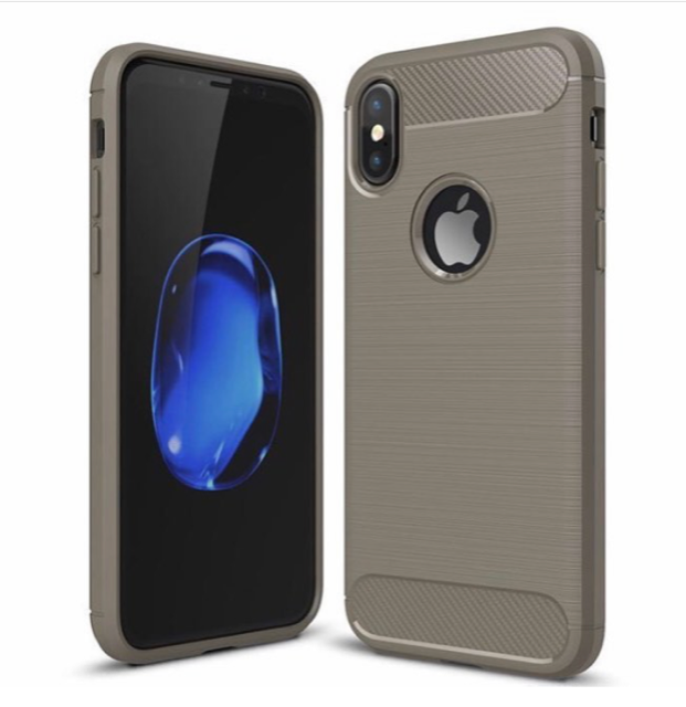 RUBBER SAMSUNG GALAXY S9 CASE - CHARCOAL