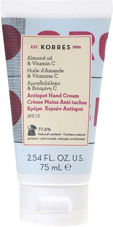 Korres almond oil&Vitamin c