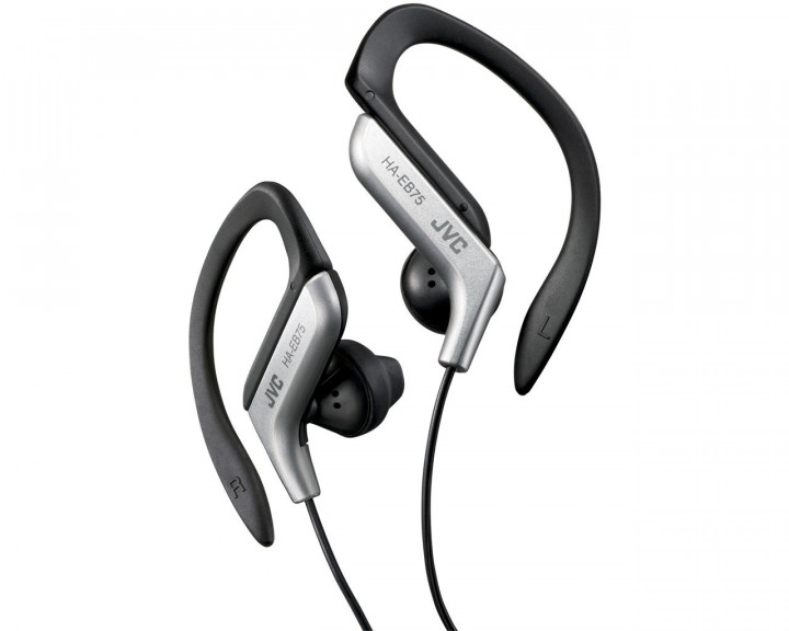 SPORT INNER EAR HEADPHONES / SILVER 13MM