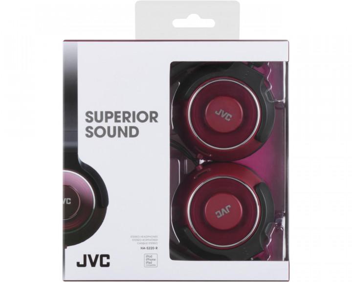 OVER EAR HEADPHONES / RED 30,0MM