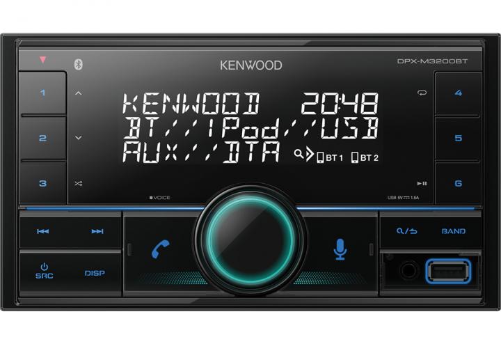 RADIO DOUBLE-DIN 4*50W (VARIABLE COLOUR)