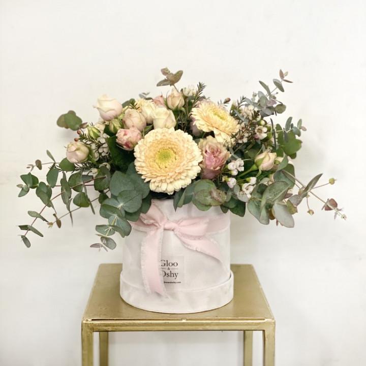 Baby Girl Flower Box