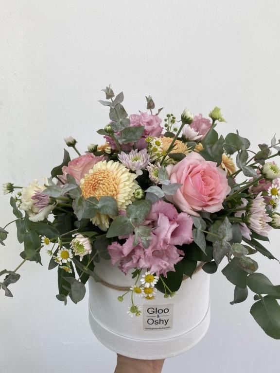 Pink Hues Flower Box