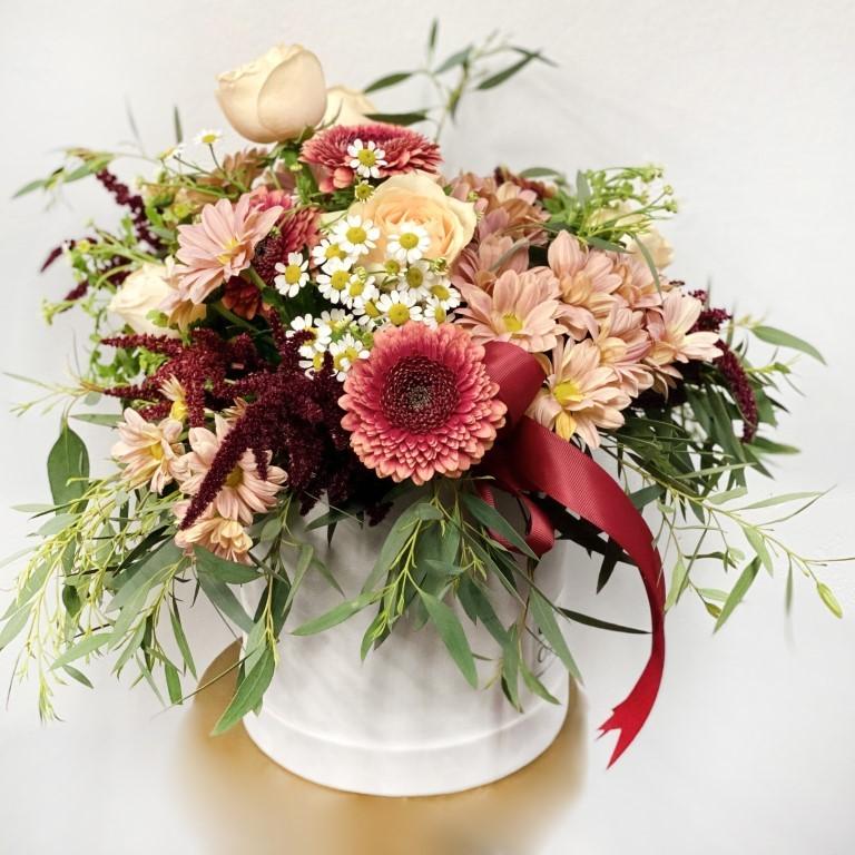 Mixed Hues Flower Box