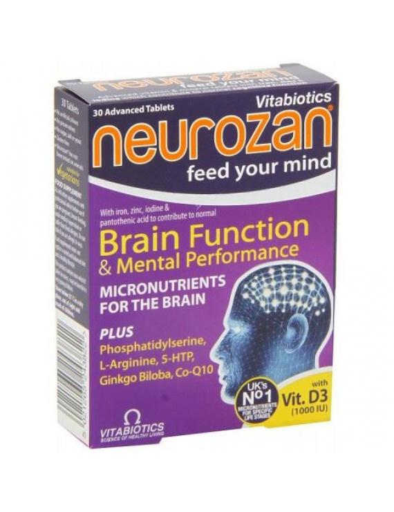 VITABIOTICS Neurozan Plus Capsules 56