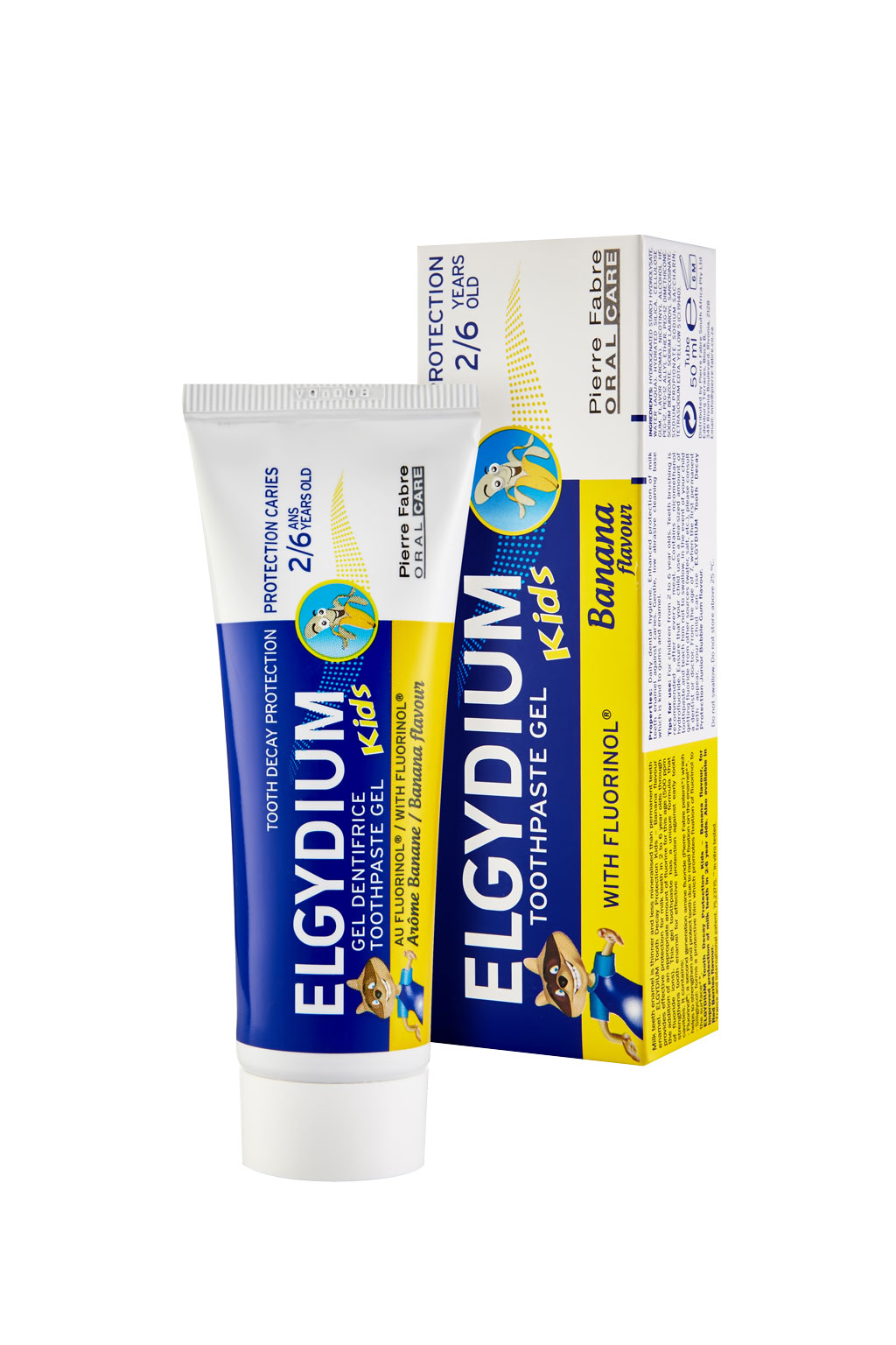Elgydium Kids Banana Toothpastes 50ml