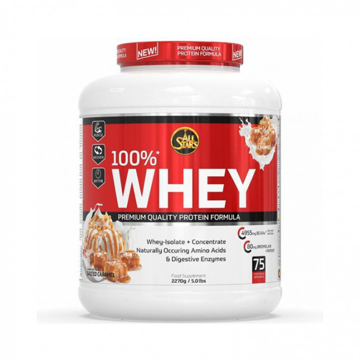 ALL STAR 100% WHEY - SALTED CARAMEL 2270G