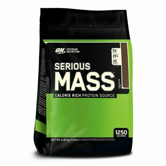 ON OPTIMUM NUTRITION SERIOUS MASS - CHOCOLATE 5.450KG