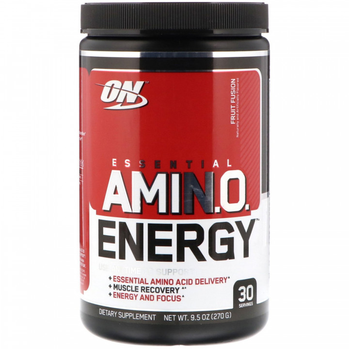 ON OPTIMUM NUTRITION AMINO ENERGY - FRUIT FUSION 270G
