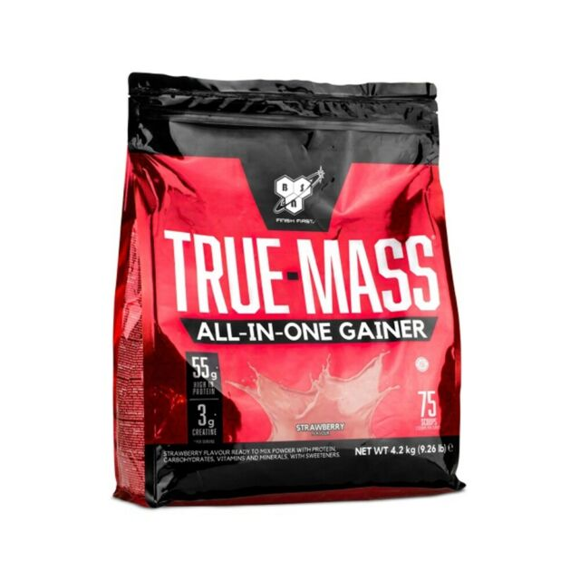 BSN TRUE MASS - STRAWBERRY 4.2KG