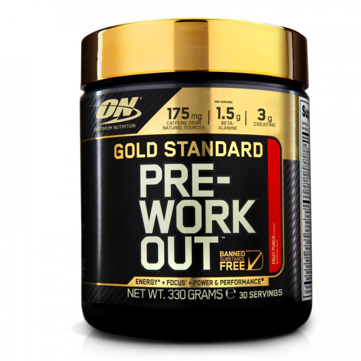 GOLD STANDARD - FRUIT PUNCH 330G