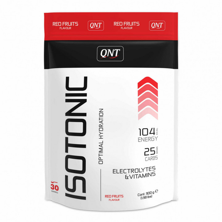 Q&T ISOTONIC - RED FRUIT 900G