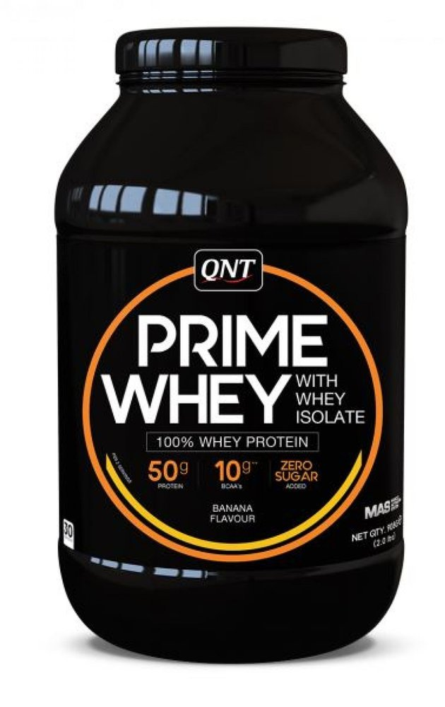 QNT PRIME WHEY ISOLATE - BANANA FLAVOUR 2KG