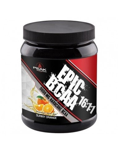 PEAK BCAA 9000MG - SUNNY ORANGE 400G