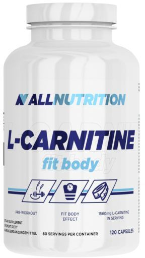 ALL NUTRITION L-CARNITINE FIT BODY - 120 CAPSULES