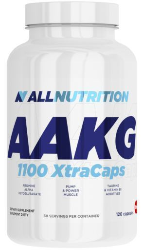 ALL NUTRITION AAKG 1100 XTRACAPS - 120 CAPSULES