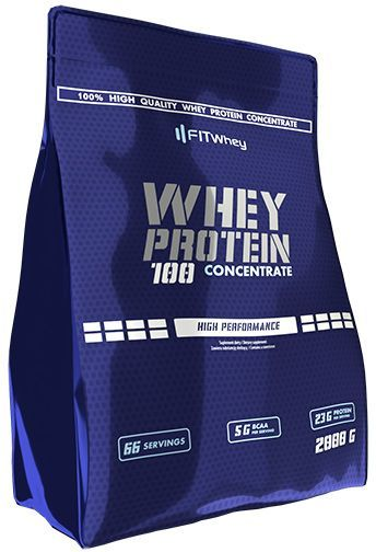 FIT WHEY PROTEIN CONCENTRATE - STRAWBERRY 2KG