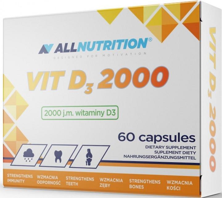 VITAMIN D3 2000IU - 60 CAPSULES