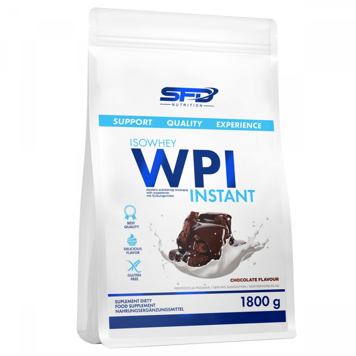 SFD ISOWHEY WPI INSTANT - CHOCOLATE FLAVOUR 1800G