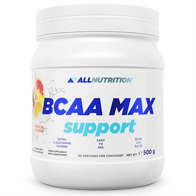 ALL NUTRITION BCAA MAX SUPPORT 2:1:1 - TROPICAL 500G