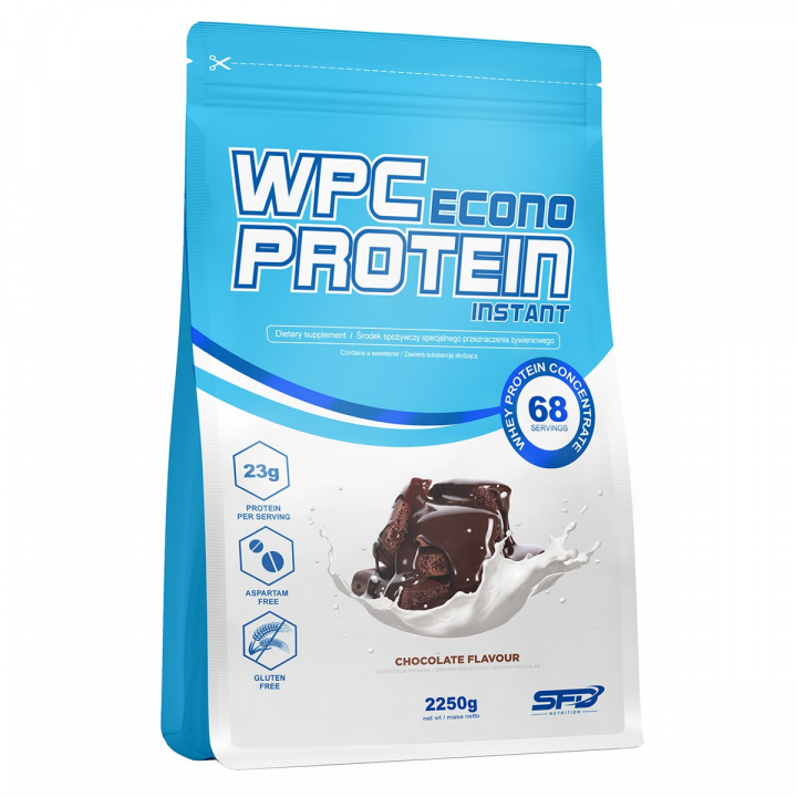 SFD WPC ECONO PROTEIN INSTANT - DOUBLE CHOCOLATE 2250G