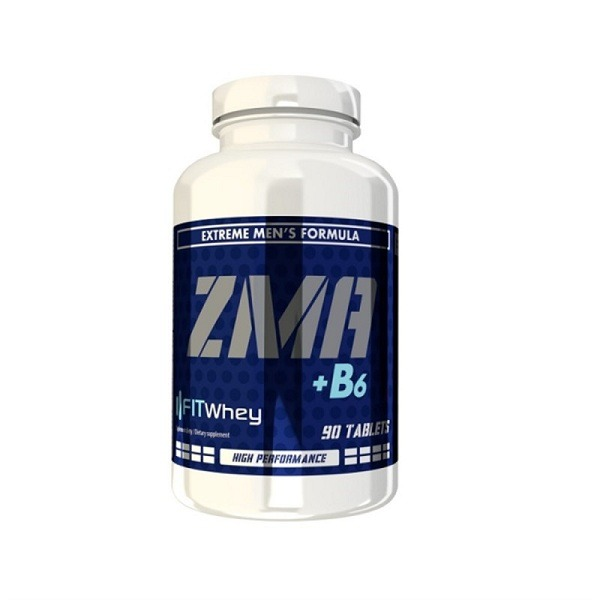 FITWAY ZMA + B6 - 90 TABLETS