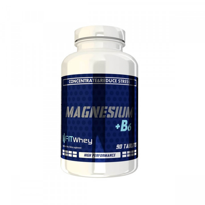 FITWAY MAGNESIUM + B6 - 90 TABLETS