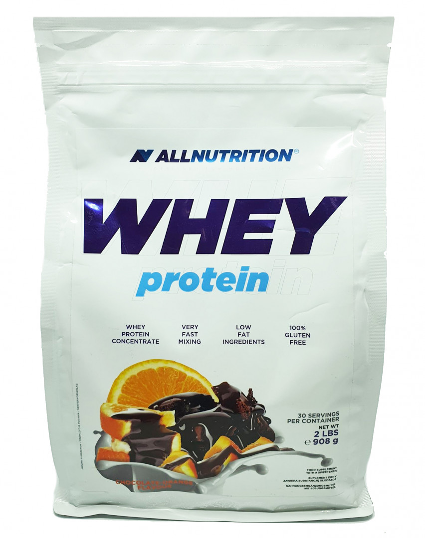 ALL NUTRITION WHEY PROTEIN - CHOCOLARE ORANGE FLAVOUR 2270G