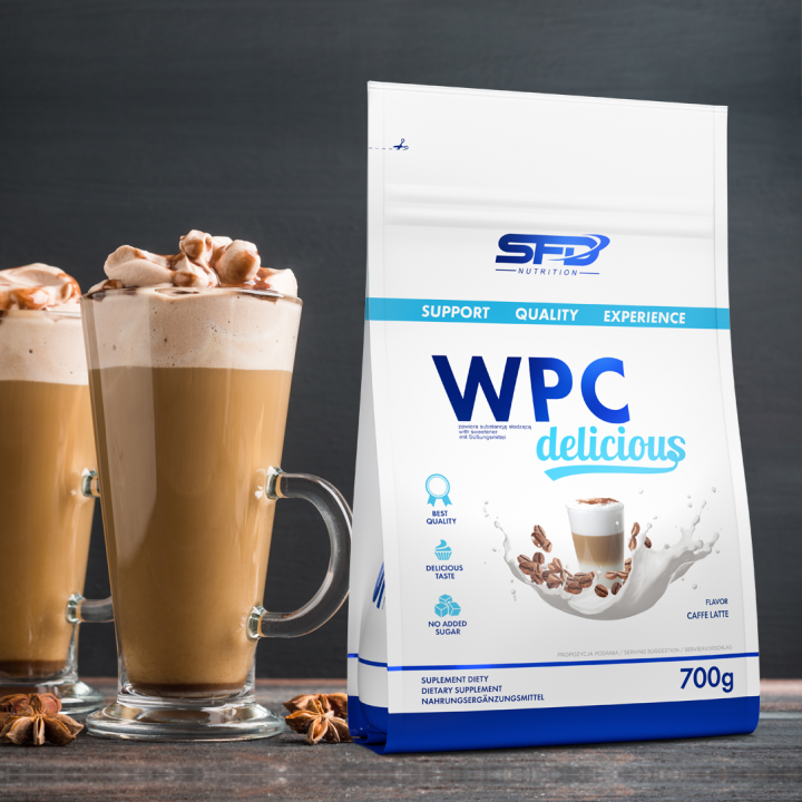 SFD WPC DELICIOUS - COFFEE LATTE 700G