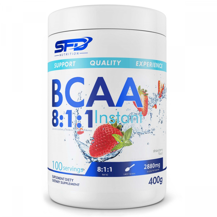 SFD BCAA 8:1:1 - STRAWBERRY 400G