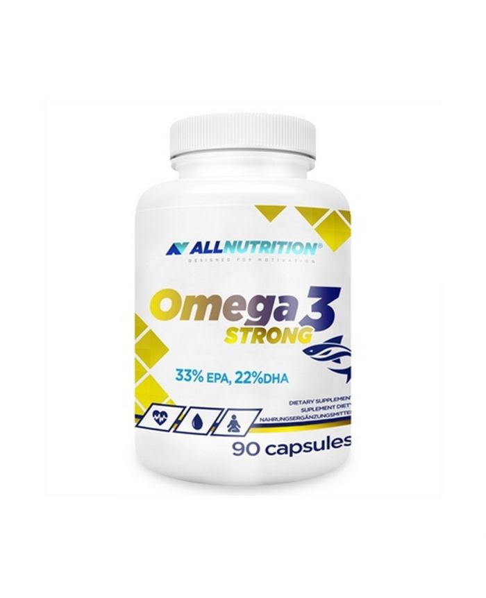 ALL NUTRITION OMEGA 3 STRONG - 90 CAPSULES