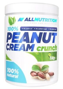 ALL NUTRITION PEANUT CREAM CRUNCH 1KG