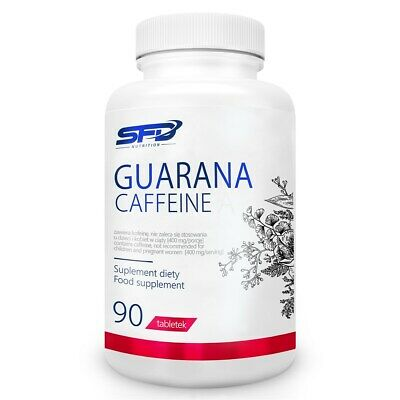 SFD GUARANA CAFFEINE - 90 TABLETS