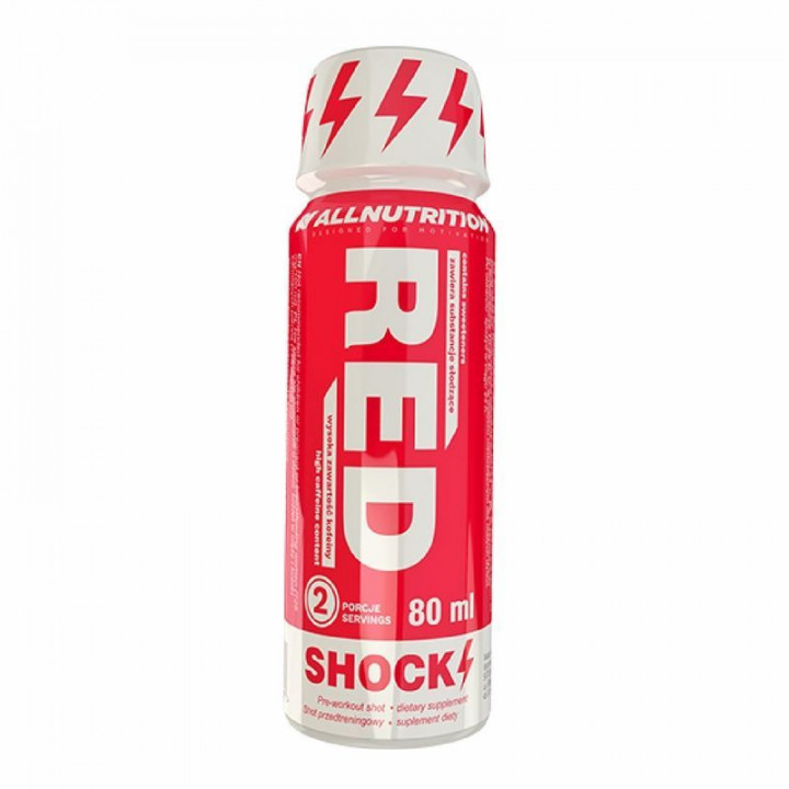 ALL NUTRITION RED SHOCK 80ML x12